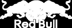 Red Bull logo in white