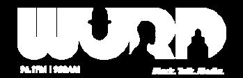 WURD logo in white