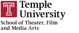 Temple University School of Theater, Film and Media Arts logo in color