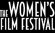 The Women's Film Festival logo in white