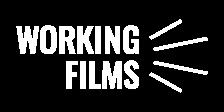 Working Films logo in white