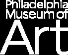 Philadelphia Museum of Art logo in white